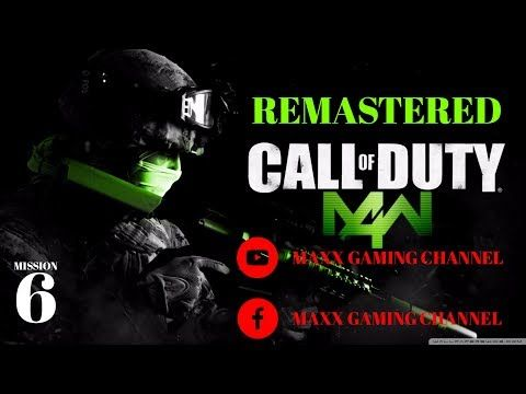 New video is now LIVE! Check it out: Call of Duty Modern Warfare 4 REMASTERED !!! Mission 6 https://youtube.com/watch?v=eveoYWMt3c0
