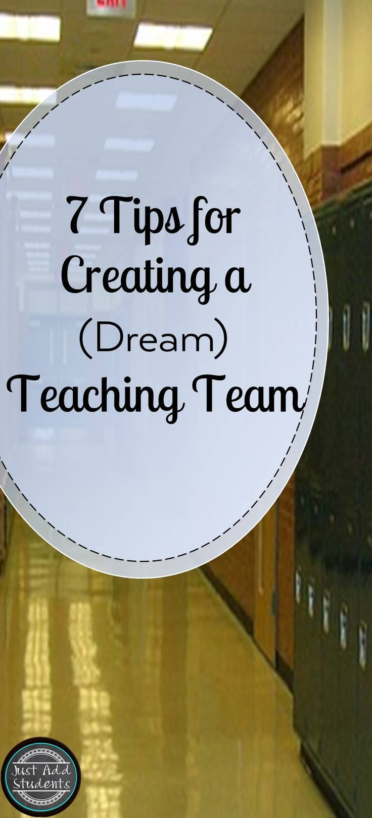Great ideas to help keep your team of teachers working together productively all year!