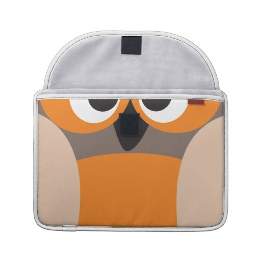 Funny staring owl Macbook Pro sleeve from: http://www.zazzle.com/funny_staring_owl_macbook_pro_sleeve-204906874123419215