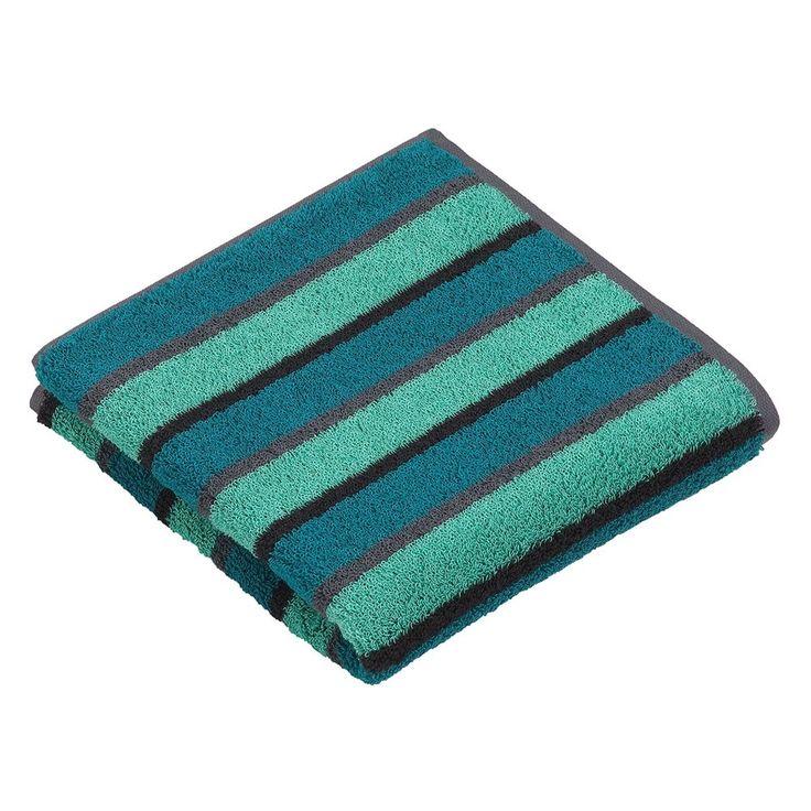 Streifen pur! Hochwertige Vossen Handtücher Calypso Galaxy mit besonders flauschigem Griff. Eine tolle Verarbeitung, eine hohe Saugfähigkeit und harmonisch abgestimmte Farben zeichnen diese Tücher aus.