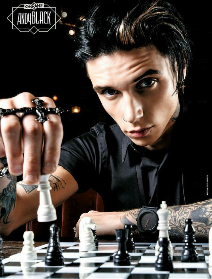 Andy Black. Kerrang! Checkmate.