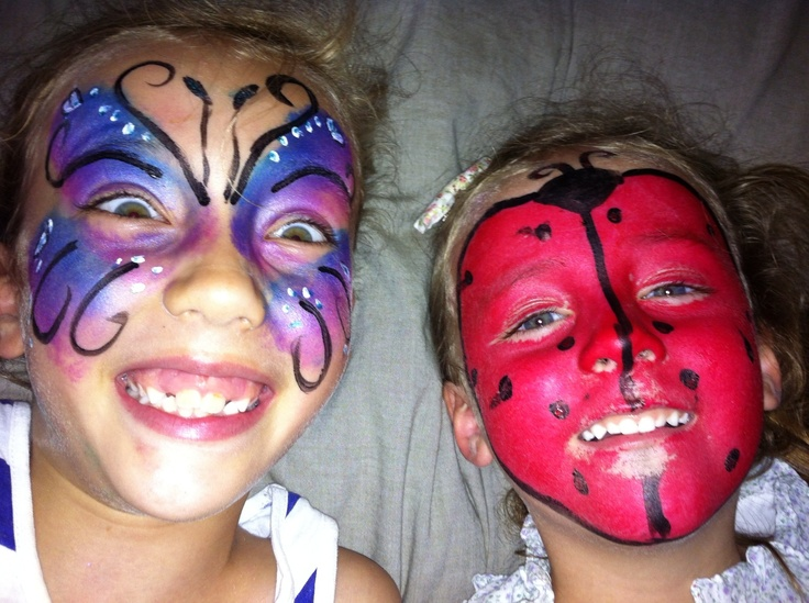 Crazy Critters Face painting