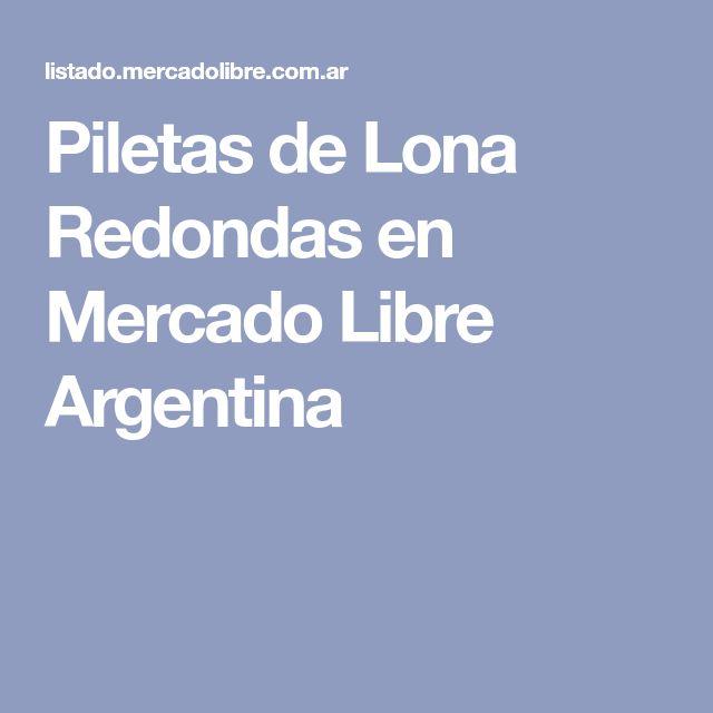 Piletas de Lona Redondas en Mercado Libre Argentina