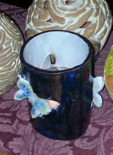 Butterflies  tealight