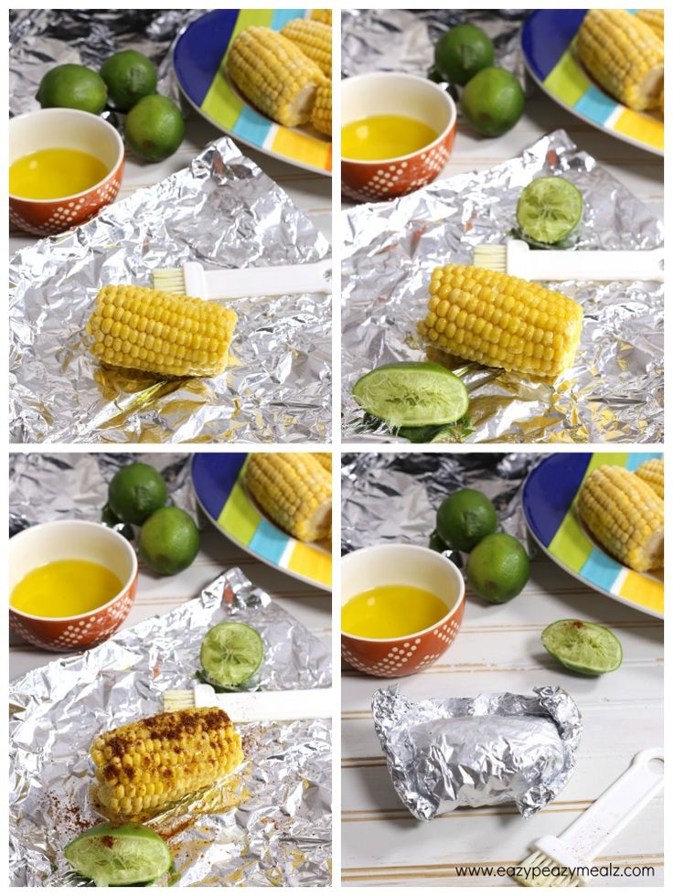 making street corn