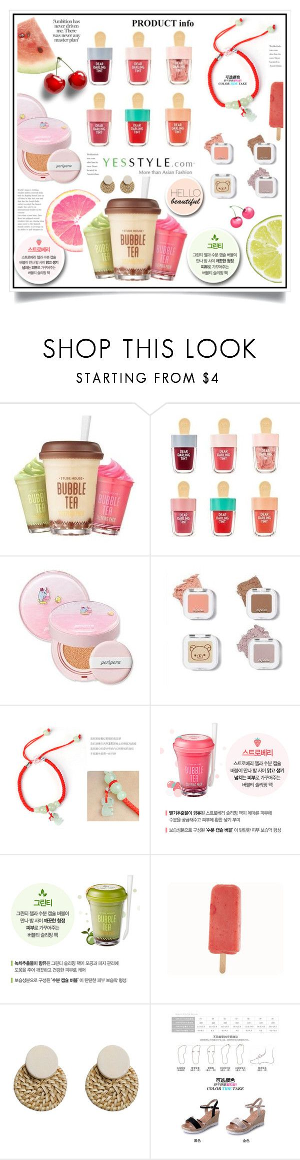 """""""Share your summer picnic outfit and WIN US$40 store coupons!"""" by ewa-naukowicz-wojcik ❤ liked on Polyvore featuring Etude House, peripera, Goroke and migunstyle"""