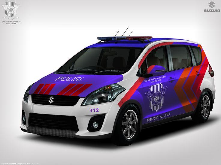 Modif Suzuki Ertiga Konsep Polisi Lalu Lintas