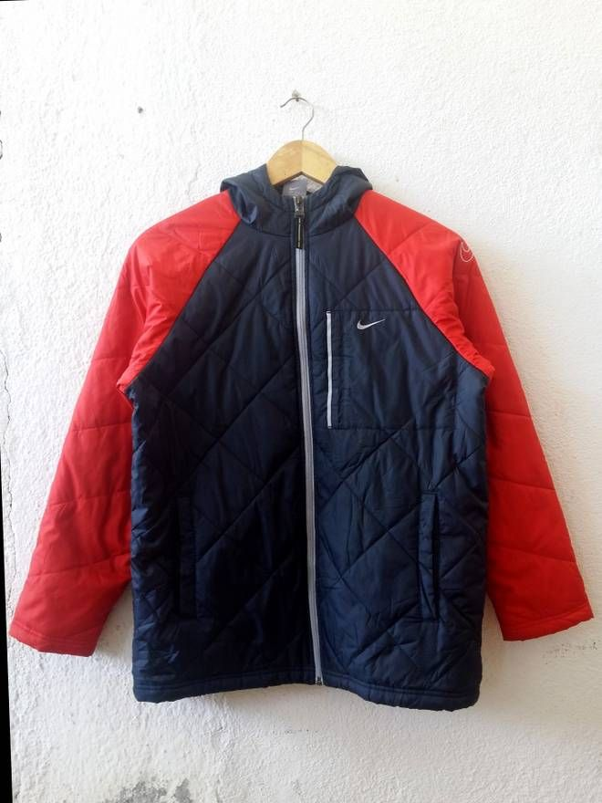 Nike Nike Swoosh Winter Gear Zipper Hooded Puff Jacket Sweater Size Medium Size US M / EU 48-50 / 2