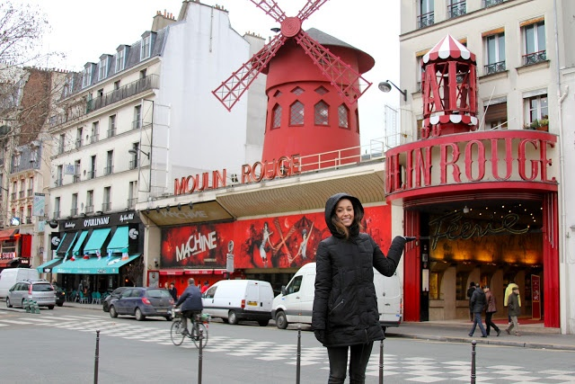 Moulin Rouge. Must see!  traveling triplets: france