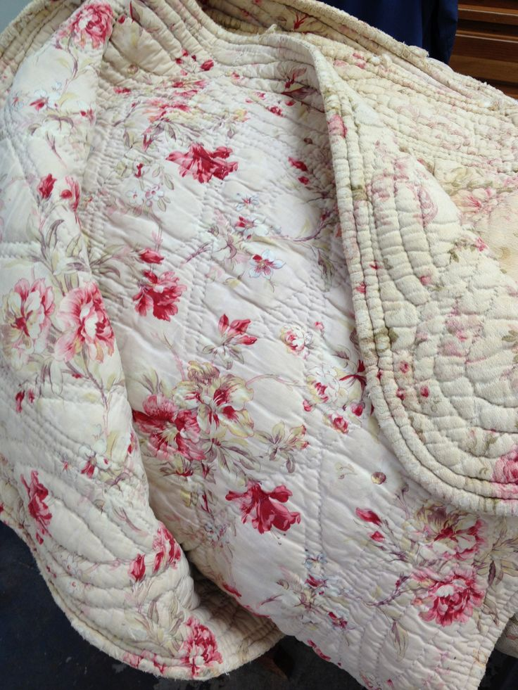Antique quilt from France.