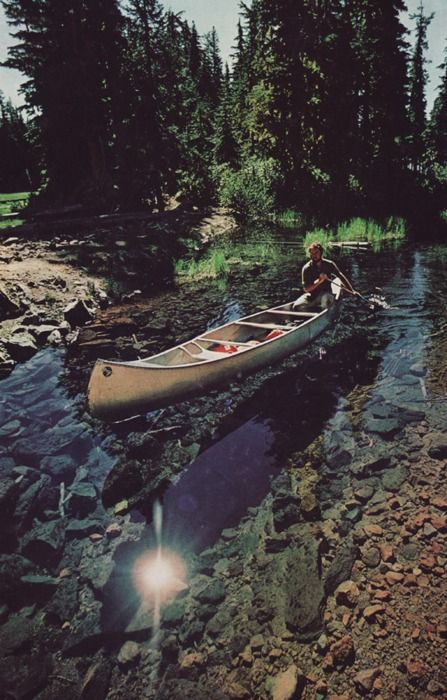 want to canoe. so. much.