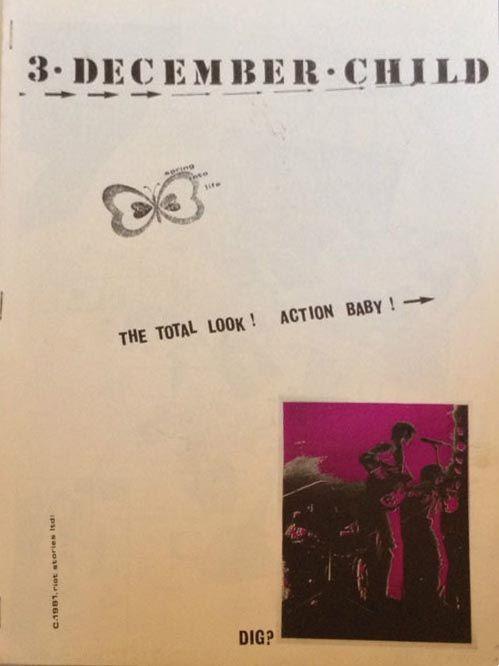 December Child  Paul Weller/Jam/Mod/Punk Fanzine