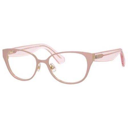 acb1392ca7 Buy KATE SPADE Eyeglasses JAYDEE 0RTJ Pink Gold 51MM at Walmart.com