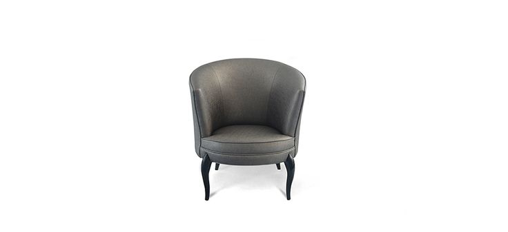 Délice is an elegant chair made to provide comfort and elegance. Délice has a modern furniture design with an upholstered fabric delicacy. This luxury chair will add style at home, fitting perfectly with your luxury furnitures | Discover more bedroom chairs: http://masterbedroomideas.eu