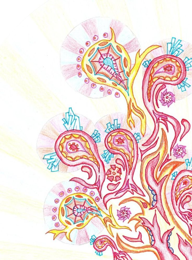 paisley pattern inferno by dolly335
