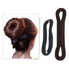Magic Bun Hair Styling Accessory Maker Women's Pads Clip Tool Set : Want more? https://bitly.com/showmemorepls