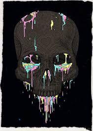 Resultado de imagem para skull art
