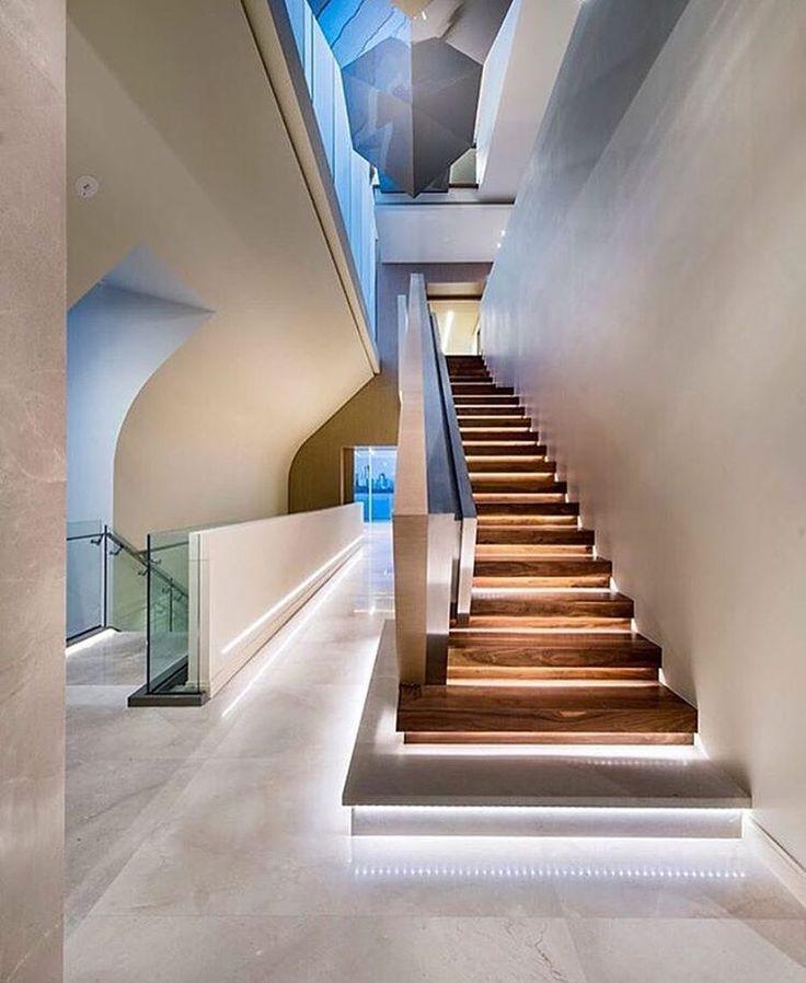 Amazing Die LED Treppenbeleuchtung innen wird zum neuen Trend LEDs bringen nicht nur wirtschaftliche Vorteile sondern schaffen auch wunderbare dekorative Lichteff