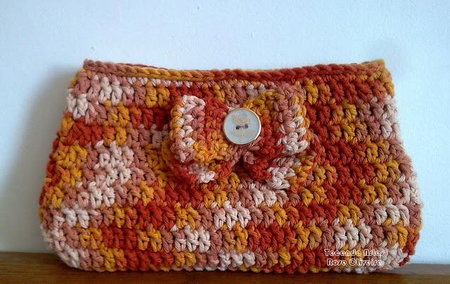 Tecendo Artes em Crochet: Bolsas
