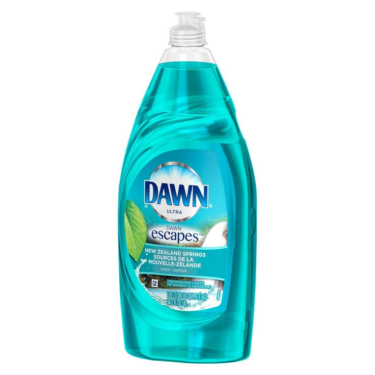 Dawn Escapes New Zealand Springs Dishwashing Liquid 34.2 Oz