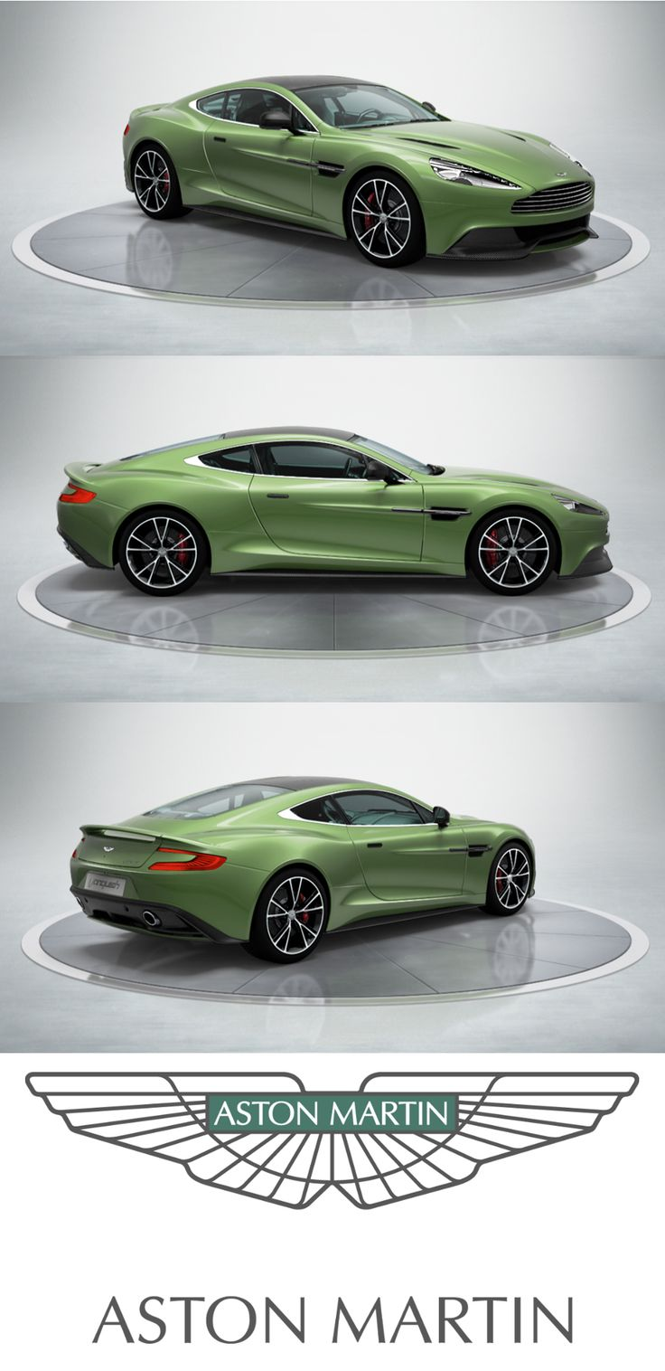 Aston Martin V12 Vanquish. The Ultimate Grand Tourer  #AstonMartin