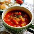 簡単♡トマトスープ(ミネストローネ) by どんぴんたん