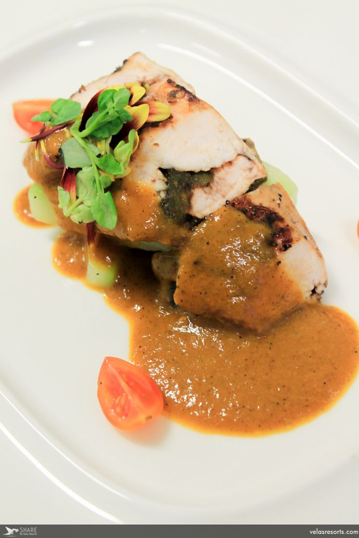 Delicious dishes are offered by our restaurant Frida.