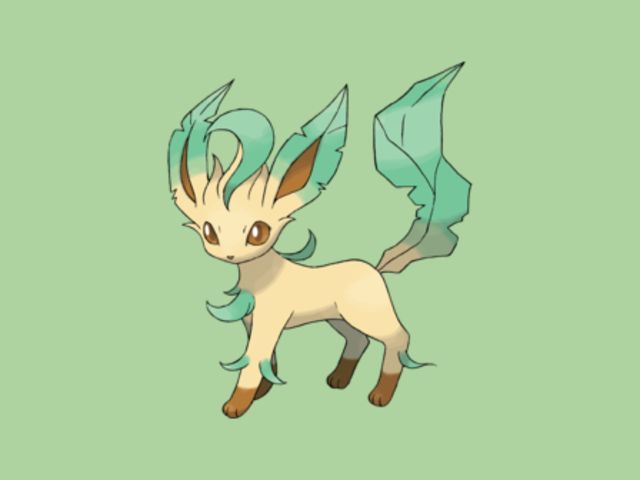 I got: Leafeon! Which Eeveelution Are You?