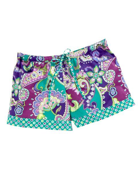 Vera Bradley PJ Shorts (in Heather) Lounge shorts! So cute! #MySuiteSetupSweepstakes Wait how do these exist, and I actually want some