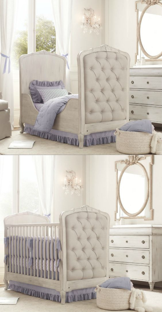 Colette Crib & Kids Bed | Restoration Hardware Baby & Child but in Antique Ivory!