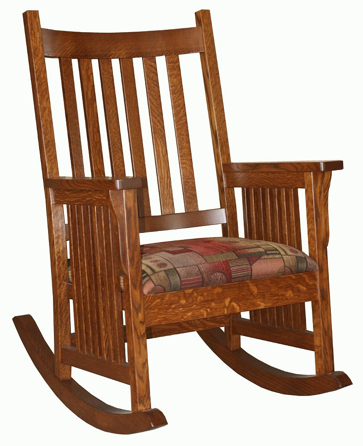 Beautiful Amish rocking chair
