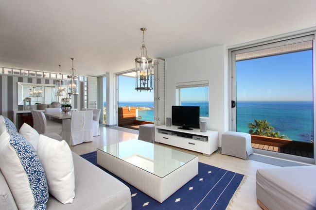 Rent the Luxury Penthouse for your Vacation in Clifton | The penthouse is a luxurious Clifton vacation rental, with uninterrupted sea views situated above Clifton 2nd beach
