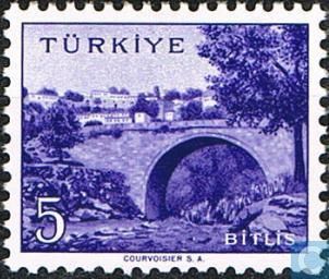 1958 Turkey - Bitlis