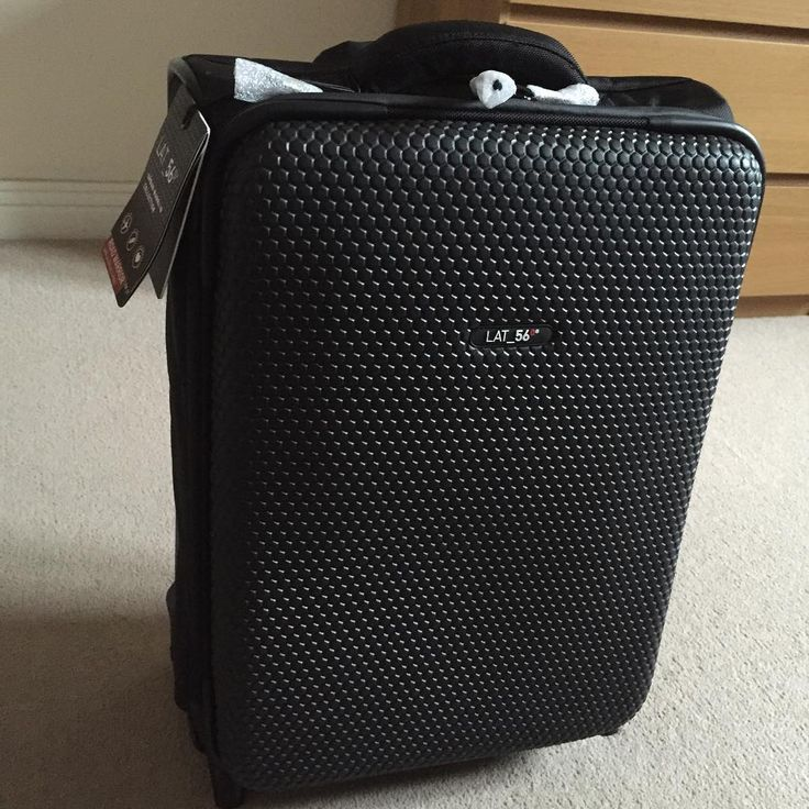 @sebjwagner and his new LAT_56 Road Warrior RW_01 suitcase, unboxed and ready to go!