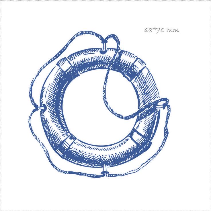 сувенир из фетра с рисунком на морскую тематику, спасательный круг, корабль, море, креативные подарки, оригинальные подарки
