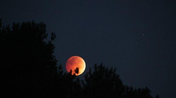 Лунное затмение 8 октября 2014 года