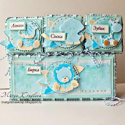 Блог Margo Kruglova: Мамины сокровища для мальчика в мятно-голубой гамме.