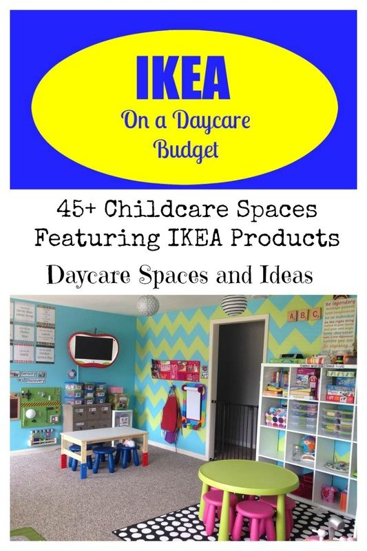 Childcare Spaces Featuring IKEA Products