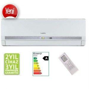 AIRFEL AS24-0925/R2 Turkuaz Gold Duvar Tipi Split Klima 24000 Btu/h A enerji sınıfı ile tasarrufunuzu sağlayacak olan bu klimanın 24000 soğutma kapasitesi ile yaz aylarında serinleyerek feraha kavuşacaksınız. Sessiz çalışma özelliği ile çalıştığını hissetmeyeceğiniz gibi Antibakteriyel filtresi ile ortamdaki tozları temizleyebilirsiniz. http://www.beyazesyamerkezi.com/AIRFEL-AS24-0925-R2-Turkuaz-Gold-Duvar-Tipi-Split-Klima-24000-Btu-h.html