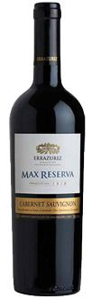 Errazuriz Max Reserva Cabernet Sauvignon 2010, Aconcagua Valley, Chile.  A crowd pleasing Cabernet Sauvignon from one of Chile's best - Errazuriz. Taste Profile -  Very ripe cassis on the nose. On the pallate very pleasing ripe, rounded, fresh cassis, essence of blackcurrant juice, complete, very appealling. Very pure.