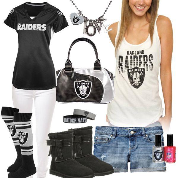 Women's Oakland Raiders Fashion