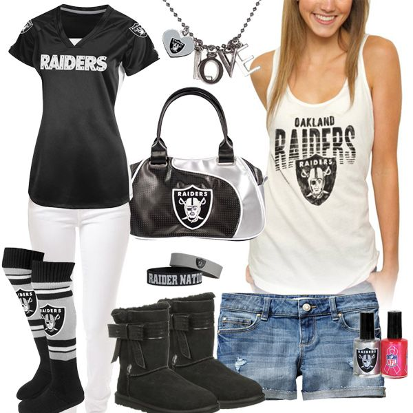 Oakland raiders clothing for women