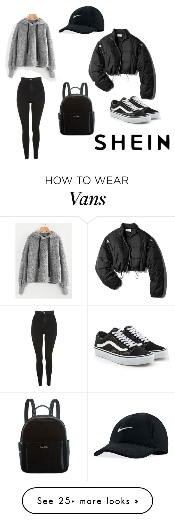 """Comfy Chic"" by itsjanaina on Polyvore featuring Topshop, 3.1 Phillip Lim, Vans, NIKE and Calvin Klein"