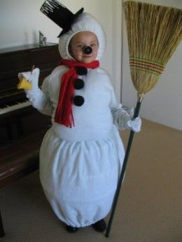 Frosty the Snowman Costume Ideas
