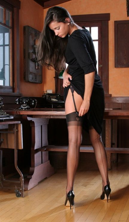 In pantyhose 12 848
