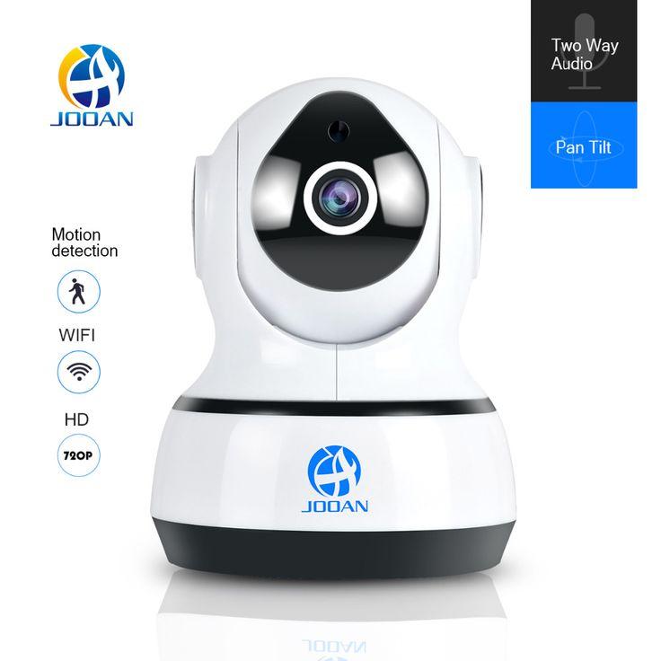 JOOAN 720 P Wireless IP Cámara 1280*720 de la Red de Wifi de La Visión Nocturna de Vigilancia de Seguridad CCTV Cámara de Interior Del Monitor Del Bebé