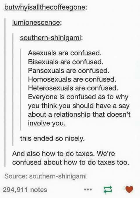 How do taxes work?  Create quality for all by becoming an ambassador for LGBTQ rights at http://www.fuzeus.com