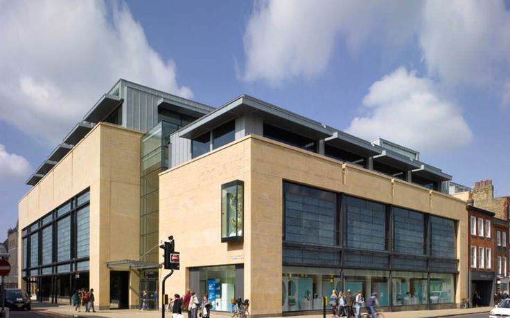 Working in association with Professor Sir Colin Stansfield Smith, John Pardey Architects won a limited competition for the design of a new 154,000 square feet John Lewis department store in Cambridge city centre which was to form the cornerstone of a new 2.8 HA shopping mall designed by Chapman Taylor Architects.