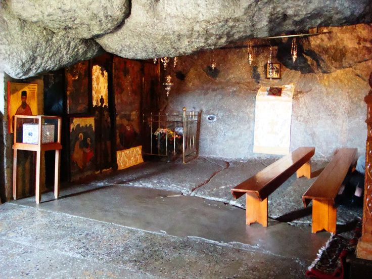 Cave of the Apocalypse on the island of Patmos