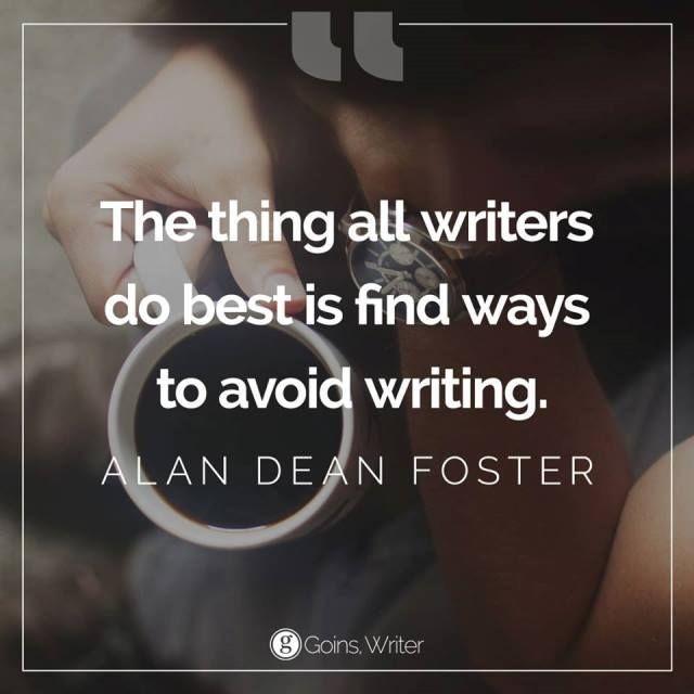 Quotable – Alan Dean Foster - Writers Write